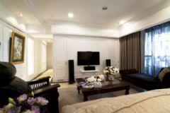158平美式古典三居公寓