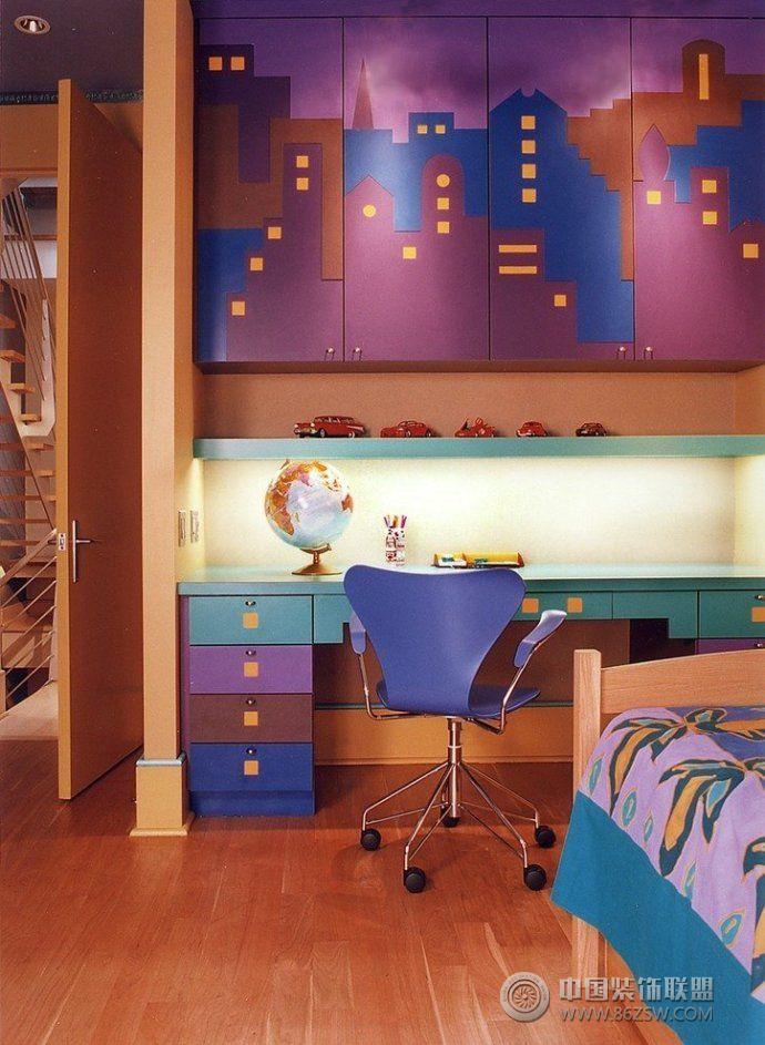 小户型书房装修效果图 阳台装修图片