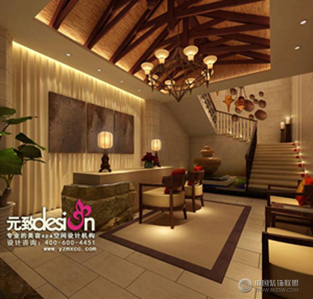 邓琴美容SPA养生会所设计项目 单张展示 会所装修效果图 八六 中国