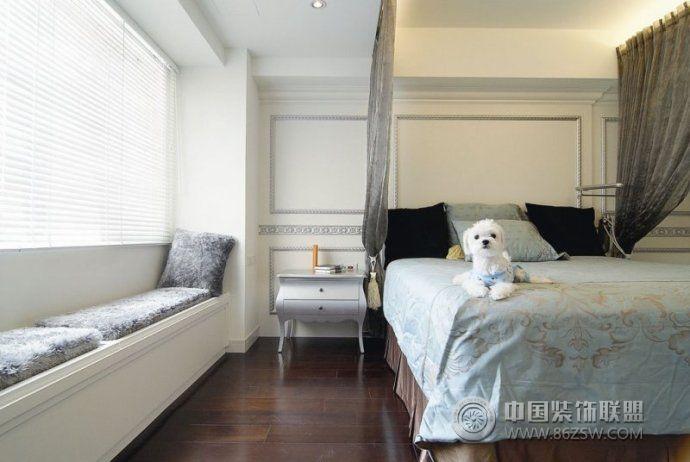 小戶型飄窗裝修效果圖-臥室裝修效果圖-八六(中國)
