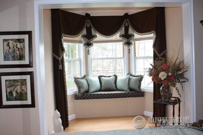 小户型飘窗装修效果图混搭卧室装修图片
