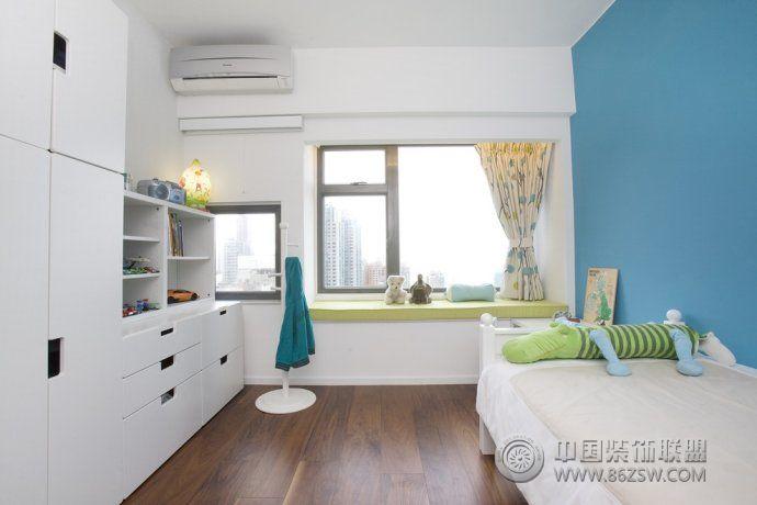 小户型飘窗装修效果图-卧室装修图片
