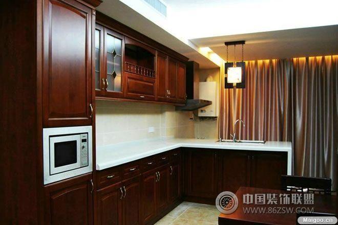 中式风格厨房装修效果图图片