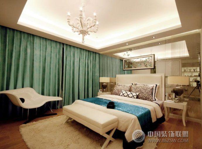 婚房卧室装修效果图 阳台装修图片