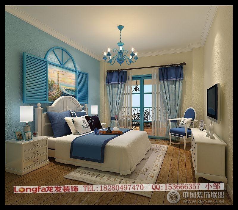 地中海风格-儿童房装修图片