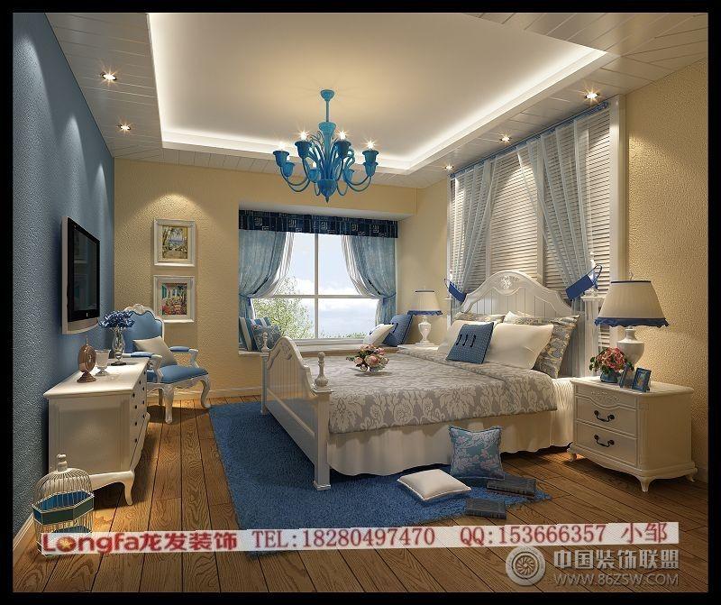 地中海风格-卧室装修图片