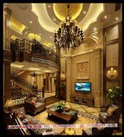 绵阳林海山庄美式风格别墅