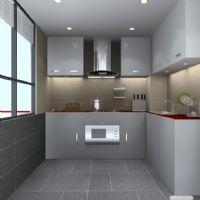 小户型厨房也可以变得整洁漂亮
