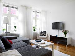 大爱灰白北欧公寓 低调色彩衬托高贵气质