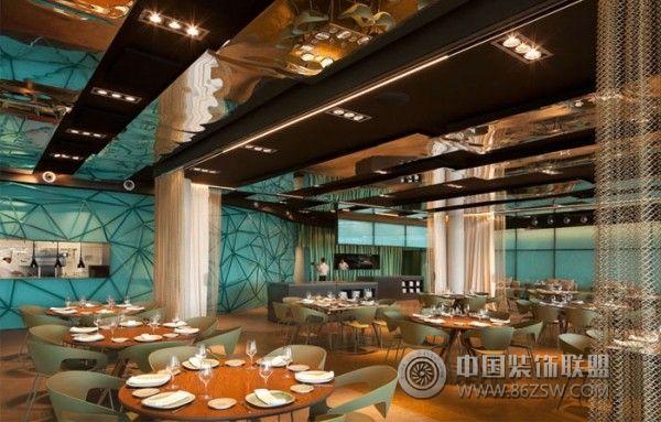 西班牙巴塞罗那奢华酒店-餐厅装修效果图-八