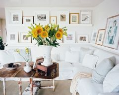 21款客厅设计案例打造温馨清爽美式家居