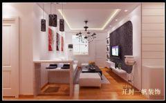 现代简约装修效果图现代简约风格三居室