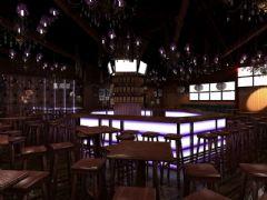 济南苏荷酒吧设计