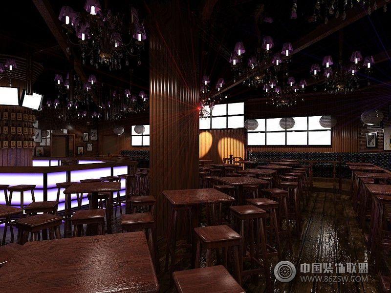 济南苏荷酒吧设计 整套大图展示 装修效果图 八