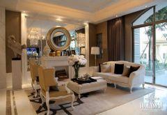 成都地标icc成都尚层装饰欧式风格三居室