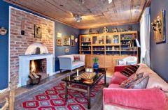 瑞典乡村风格公寓 复古158平米温暖住宅