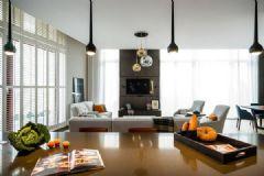 采光超好的阳光房 现代简约风格公寓设计