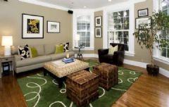 16款平和淡雅客厅设计 春天来啦
