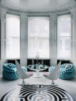优雅个性水蓝色 个性有格调的空间