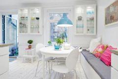 斯堪的纳维亚优雅之家 哥德堡的彩色公寓