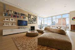 外形华丽的纽约公寓 宽敞明亮大气的住宅