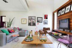 混搭风 耳目一新的复式公寓设计