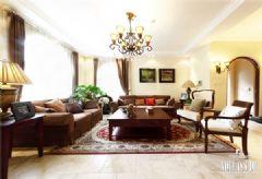 成都尚层装饰别墅建筑代表作美式风格别墅