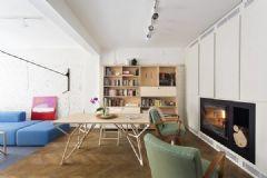 舒适温馨的现代生活空间 索菲亚老旧公寓改造