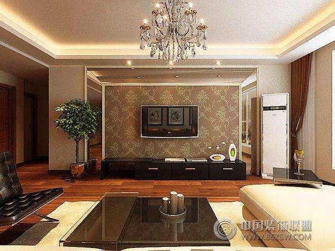 简欧和现代的完美混搭 雅致大户型(组图)混搭客厅装修图片图片