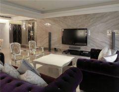 成都尚层装饰天誉新古典古典风格三居室