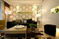 时尚浪漫两居室 温馨有艺术感的空间