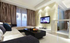 简约时尚三居室 低调奢华有内涵的住宅