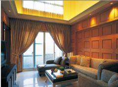 成都尚层装饰-仁恒滨河湾港式风格现代风格三居室