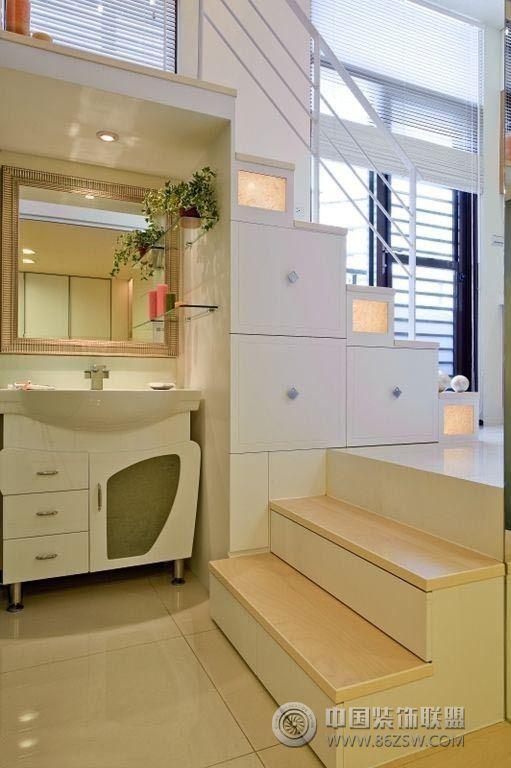 35平米紧凑小户型装修 收纳轻松搞定 客厅装修效果图