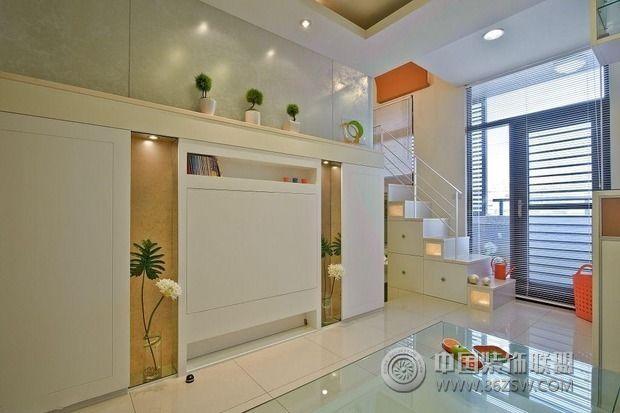 35平米紧凑小户型装修 收纳轻松搞定-客厅装修效果图