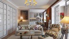 60平米混搭复古公寓 看老房如何翻新