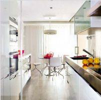 时尚的厨房装修效果图 设计感十足