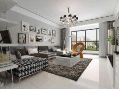简约时尚黑白色家居 营造清新优雅氛围