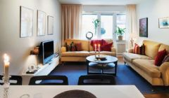 层次丰富的90平时尚舒适混搭住宅