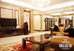 成都尚层装饰的平层精装豪宅改造古典风格大户型