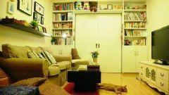 35平米的一居室设计 清爽精致家居