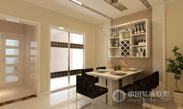 现代简约风格设计80平三室两厅装修 高清图片
