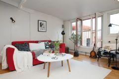 有活力的阁楼公寓 时尚温馨69平米空间