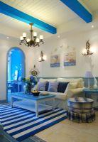 4万元打造的两室两厅76平经典地中海风