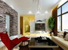 现代简约三口之家 畅快明亮的空间