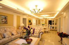 奢华欧式风格装修 华丽温暖黄色调家居