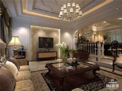 成都尚层装饰柔情水乡别墅设计古典风格别墅