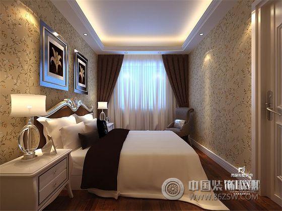 欧式卧室套间装修效果图