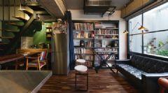 53平米轻工业铁件风公寓 有个性的小屋