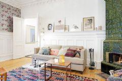 斯堪的纳维亚风格 111平复古一居公寓